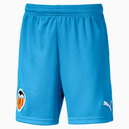 Valencia CF Kinder Replica Shorts, Bleu Azur-Puma White, small