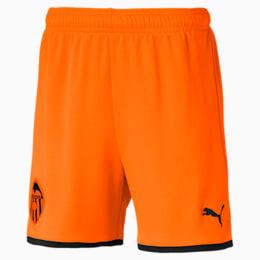 Shorts réplica para niños Valencia CF, Vibrant Orange-Puma Black, small