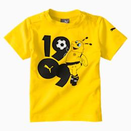 BVB MINICATS GRAFISK T-SHIRT TIL BØRN, Cyber Yellow, small