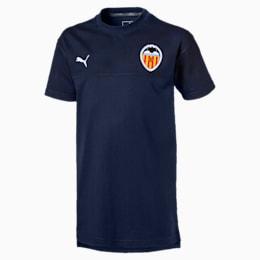 T-shirt Valencia CF Casuals bambino, Peacoat, small