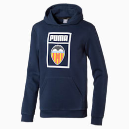 Valencia CF Shoe Tag Kinder Hoodie, Peacoat, small