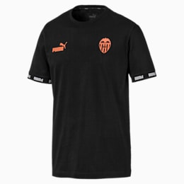 Valencia CF Football Culture Men's Tee, Puma Black, small