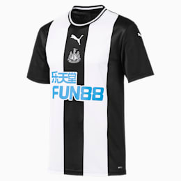 Newcastle United FC Men's Home Replica Jersey, Puma White-Puma Black, small