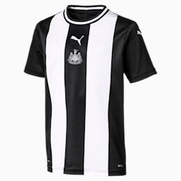 Camisola principal de manga curta do Newcastle United FC Replica para criança, Puma White-Puma Black, small