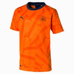 Maillot troisième tenue Newcastle United FC Replica pour enfant, Vibrant Orange-Peacoat, small