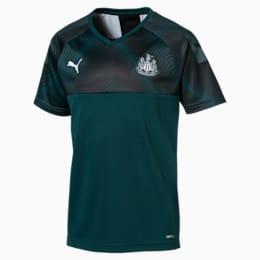 Newcastle United Kids' Away Replica Jersey, Ponderosa Pine-Puma Black, small