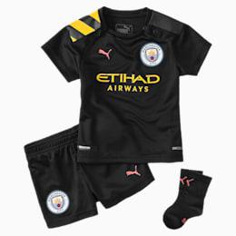 Manchester City Kleinkinder Auswärts-Set, Puma Black-Georgia Peach, small
