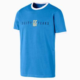 Camiseta para hombre Manchester City 125 Year Anniversary, Marina-Puma White, small