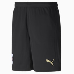 Austria Away Replica Men's Shorts, Puma Black-Puma Team Gold, small