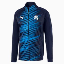 Olympique de Marseille Men's Stadium Jacket