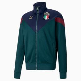 FIGC イタリア ICONIC MCS トラックジャケット, Ponderosa Pine-Peacoat, small-JPN