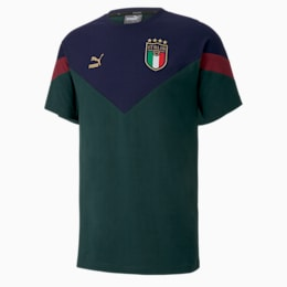 T-Shirt Italia Iconic MCS pour homme, Ponderosa Pine-peacoat, small
