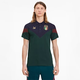 FIGC イタリア ICONIC MCS ポロシャツ 半袖