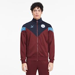 Man City Iconic MCS Men's Track Jacket, Cordovan-Peacoat, small