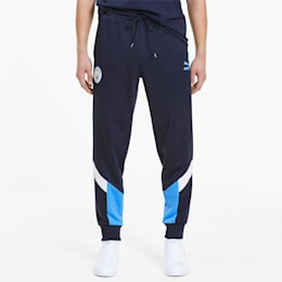 Man City Iconic MCS Men's Track Pants, Peacoat-Team Light Blue, small