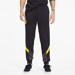 Pantalon de survêtement BVB Iconic MCS pour homme, Puma Black-Cyber Yellow, small