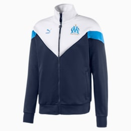 Olympique de Marseille MCS-træningsjakke til mænd