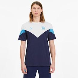 Męska koszulka MCS Olympique Marsylia, Dwurzędowa kurtka marynarska, small