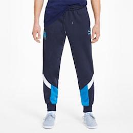 Olympique de Marseille Men's MCS Track Pants, Peacoat, small