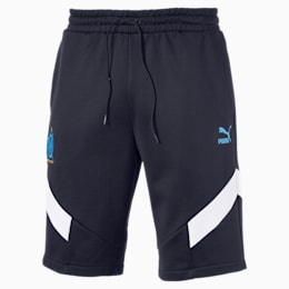 Short Olympique de Marseille Iconic MCS pour homme, Peacoat, small