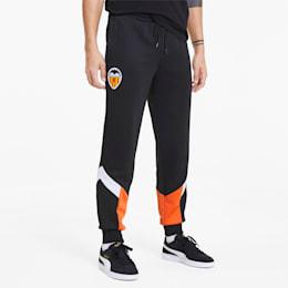Pantalon de survêtement Valencia CF Iconic MCS pour homme, Puma Black-Vibrant Orange, small