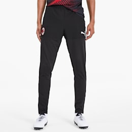 AC Milan Men's Stadium Training Pants, Puma Black, small