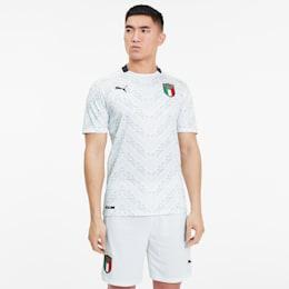 Italia Men's Away Replica Jersey, Puma White-Peacoat, small-SEA
