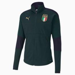 Italia Men's Training Jacket, Ponderosa Pine-Peacoat, small