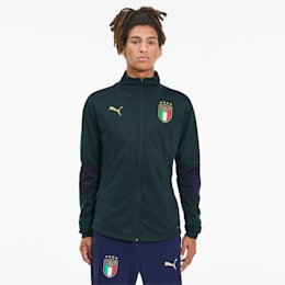 Italia Men's Training Jacket, Ponderosa Pine-Peacoat, small-SEA