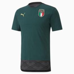 FIGC イタリア カジュアル Tシャツ 半袖