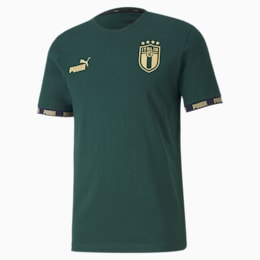 Italia Football Culture Herren T-Shirt, Ponderosa Pine, small