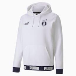 FIGC イタリア FTBLCULTURE フーディー, Puma White-Peacoat, small-JPN