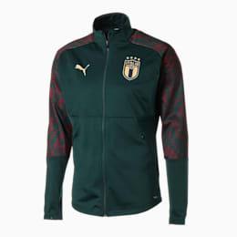 FIGC イタリア RENAISSANCE スタジアム ジャケット, Ponderosa Pine-Cordovan, small-JPN