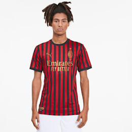 AC Milan 120th Anniversary Men's Home Authentic Jersey, Tango Red -Puma Black, small