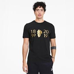 AC Milan 120th Anniversary Herren T-Shirt, Puma Black-Victory Gold, small