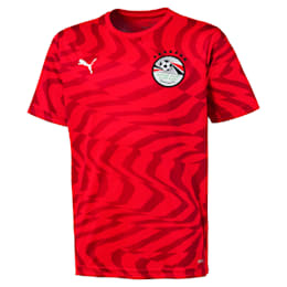 Ägypten Kinder Replica Heimtrikot, Puma Red-Puma White, small