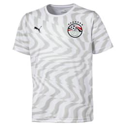 Egypt Kids' Away Replica Jersey, Puma White-Puma Black, small