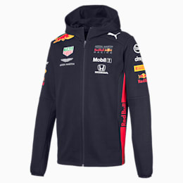 Red Bull Racing Team Hooded Men's Sweat Jacket, NIGHT SKY, small