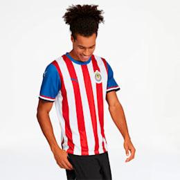 Chivas 2019-20 Men's Home Fan Jersey, Puma Red-Puma Royal, small