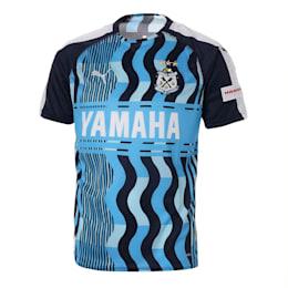 ジュビロ 19 リミテッド ハンソデゲームシャツ ユニフォーム, AZURE BLUE-Peacoat, small-JPN