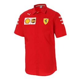 フェラーリ SF チーム シャツ, Rosso Corsa-without MW Logo, small-JPN