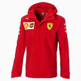 Blouson à capuche tissé Ferrari Team pour homme