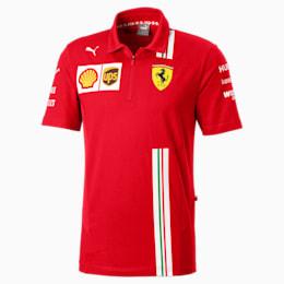 Ferrari Team Men's Polo, Rosso Corsa, small