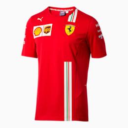 Scuderia Ferrari Men's Team Tee, Rosso Corsa, small