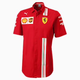 Ferrari Team Short Sleeve Men's Shirt