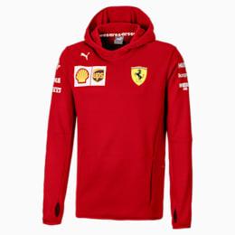 Blouson à capuche Ferrari Team Tech Fleece pour homme