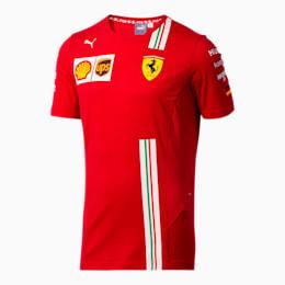 Scuderia Ferrari Vettel Men's Replica Tee, Rosso Corsa, small