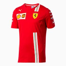 Scuderia Ferrari Leclerc Men's Replica Tee