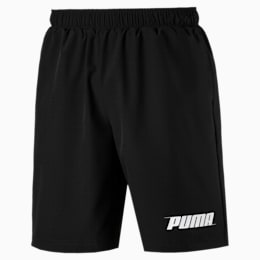"Rebel Woven 9"" Men's Shorts, Puma Black, small"