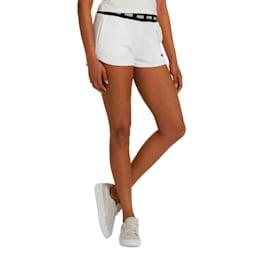 Amplified Women's Shorts, Puma White, small
